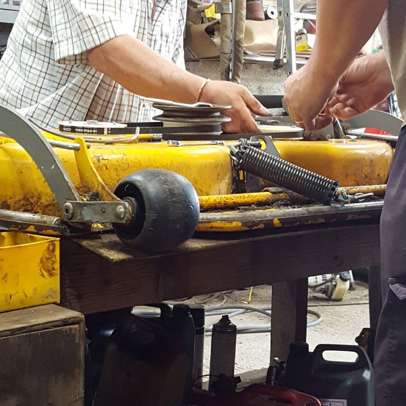 Lawn mower repairs Burntwood
