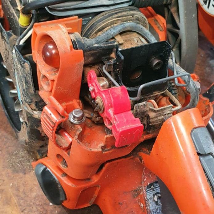 Husqvana chainsaw service